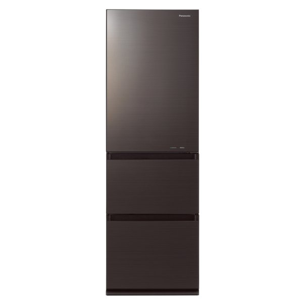 【冷蔵庫・冷凍庫】 パナソニック NR-C370GC-T [ダークブラウン]・パナソニック ・右開き ・365L 【978548】T