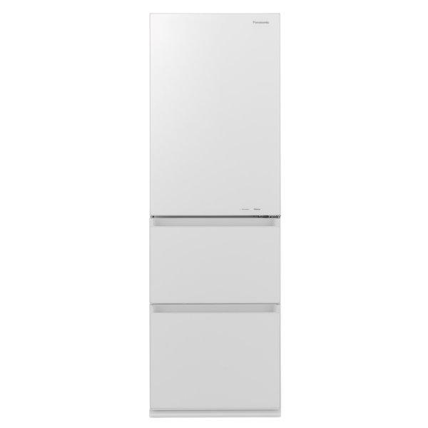 【冷蔵庫・冷凍庫】 パナソニック NR-C370GC-W [スノーホワイト]・パナソニック ・右開き ・365L 【978549】T