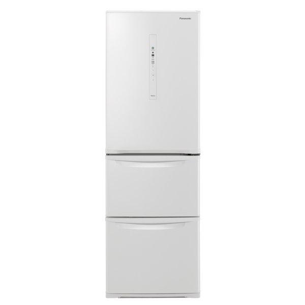 【冷蔵庫・冷凍庫】 パナソニック NR-C370C-W [ピュアホワイト]・パナソニック ・右開き ・365L 【978562】T