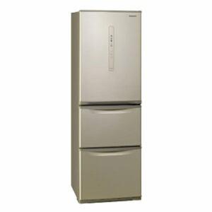 【冷蔵庫・冷凍庫】 パナソニック NR-C370CL-N [シルキーゴールド]・パナソニック ・左開き ・365L 【978561】T