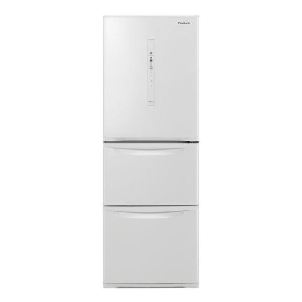 【冷蔵庫・冷凍庫】 パナソニック NR-C340C-W [ピュアホワイト]・パナソニック ・右開き ・335L 【978558】T