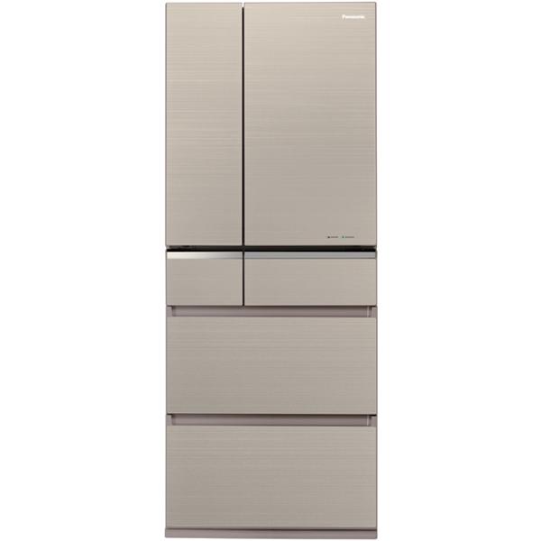 【冷蔵庫・冷凍庫】 パナソニック NR-F475XPV-N [マチュアゴールド]・パナソニック ・フレンチドア ・470L 【978547】T