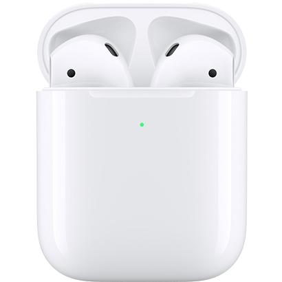 【ヘッドホン・イヤホン】 APPLE AirPods with Wireless Charging Case 第2世代 MRXJ2J/A・APPLE ・ワイヤレス ・ヘッドフォン 【979060】