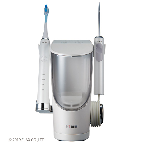 【電動歯ブラシ】 フラックス T-Time BA FLTM-19B・フラックス ・ジェットウォッシャー ・電動歯ブラシ付 【978953】T