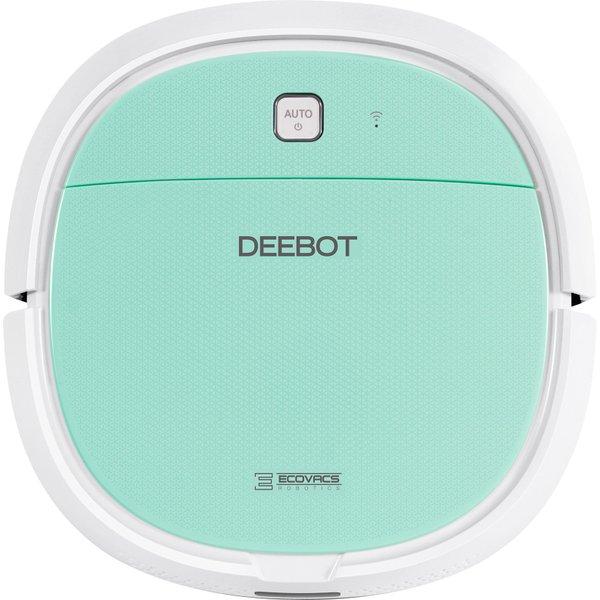 【掃除機】 ECOVACS DEEBOT MINI2 DA3G・ECOVACS ・ロボット掃除機 ・ミントグリーン 【978437】T