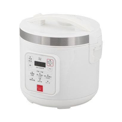 【炊飯器】 石崎電機製作所 低糖質炊飯器 SRC-500PW・石崎電機製作所 ・5合 ・- 【978403】T