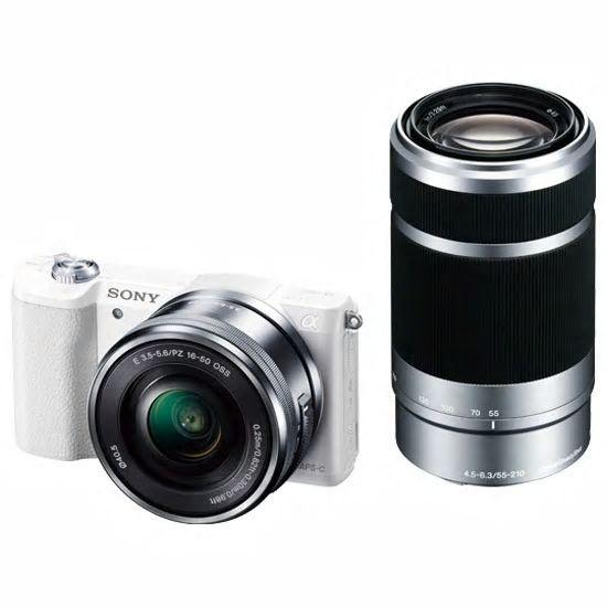 【カメラ】SONY α5100 ILCE-5100Y ダブルズームレンズキット ホワイト【972179】