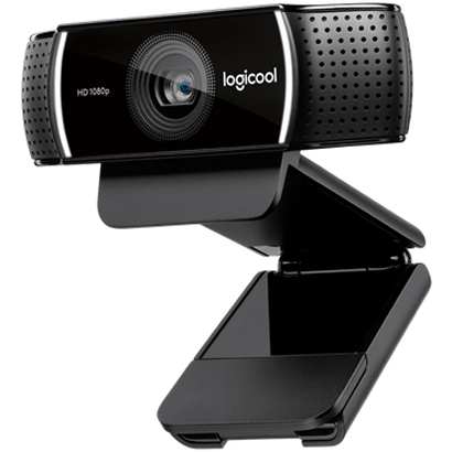 【WEBカメラ】 ロジクール HD Pro Stream Webcam C922 [ブラック]・ロジクール ・ウェブカメラ ・有線 【978193】T
