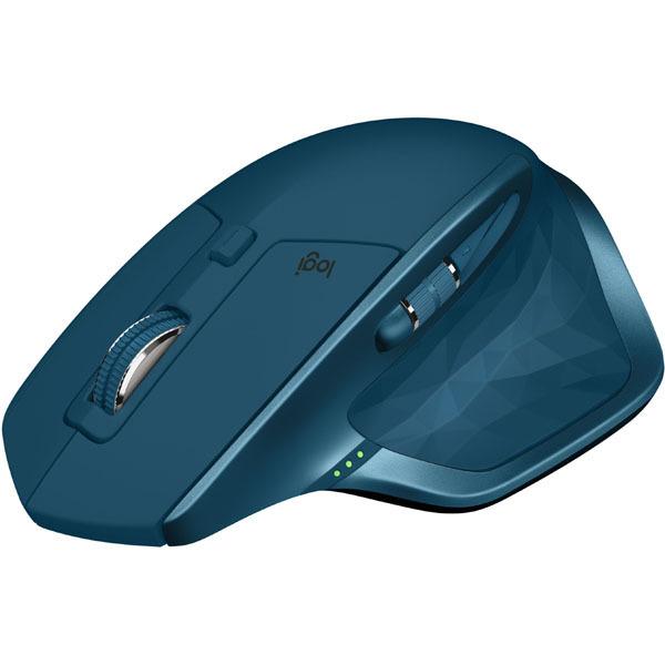 【マウス】 ロジクール MX MASTER 2S Wireless Mouse MX2100sMT・ロジクール ・7ボタン ・ミッドナイトティール 【978632】