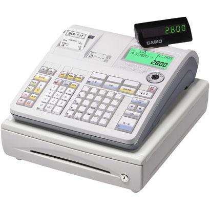 【レジスター】 カシオ 電子レジスター TE-2800-25S・カシオ ・インターネット直結モデル ・25部門 【978243】T