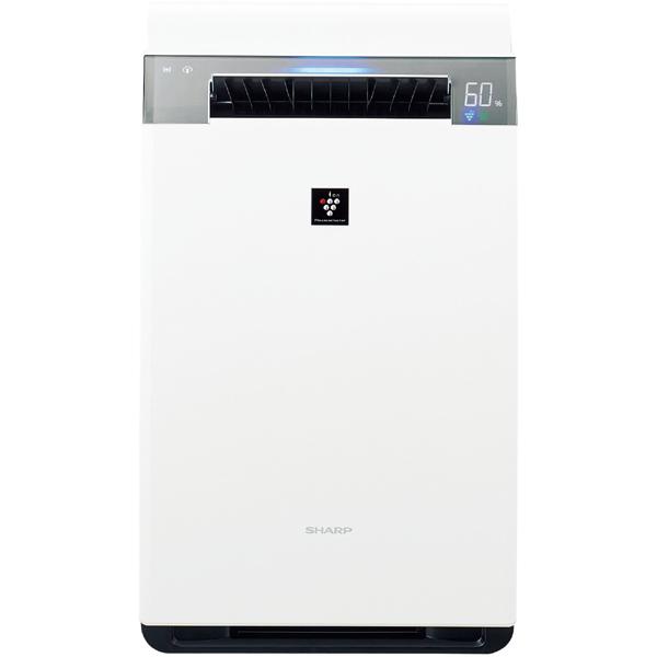 【空気清浄機】 シャープ KI-HX75・プラズマクラスター25000搭載 ・加湿空気清浄機 ・ホワイト 【977030】