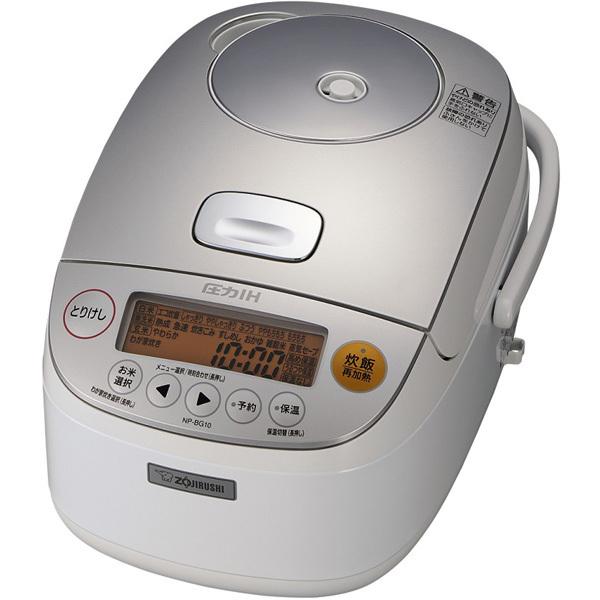 【炊飯器】 象印 極め炊き NP-BG10-WA [ホワイト]・象印 ・圧力IH炊飯ジャー ・5.5合炊き 【977964】