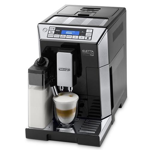 【コーヒーメーカー】 デロンギ エレッタ カプチーノ トップ ECAM45760B・デロンギ ・コンパクト全自動 ・エスプレッソマシン 【978135】T