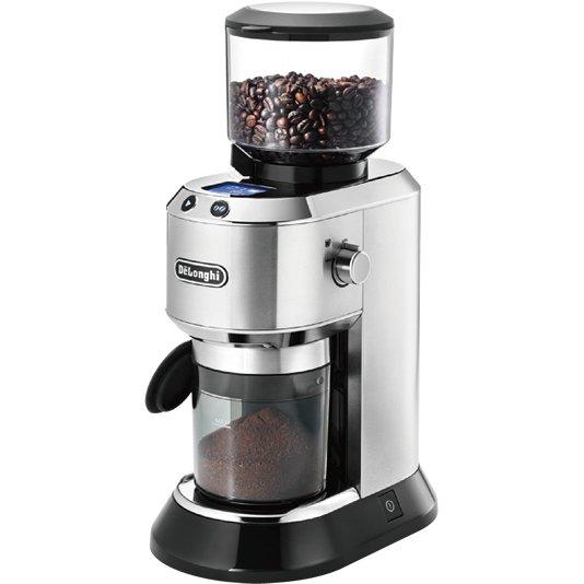 【その他調理家電】 デロンギ デディカ コーン式コーヒーグラインダー KG521J・18段階粒度調節 ・豆の計量不要 ・メタルシルバー 【976949】T