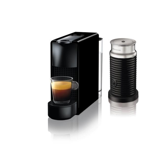 【コーヒーメーカー】 ネスレ NESPRESSO Essenza Mini バンドルセット C30BKA3B・ネスレ ・専用カプセル式 ・コーヒーメーカー 【977670】T