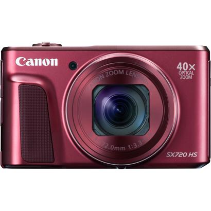 【デジタルカメラ】 CANON PowerShot SX720 HS [レッド]・CANON ・コンパクトデジタルカメラ ・- 【979589】T