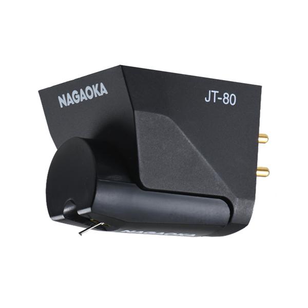 送料区分 感謝価格 80 AM10時迄の決済確定ご注文は即日発送 日 待望 祝祭日を除く MM型カートリッジ ナガオカ JT80BK ブラック 201456 ジュエルトーン MM型音楽用カートリッジ T