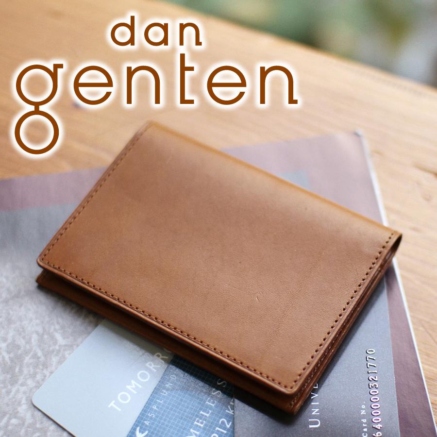 【実用的Wプレゼント付】 dan genten ダン ゲンテン smart wallet(スマートウォレット)パスケース 101855(101215)メンズ 定期入れ 二つ折りパスケース ギフト プレゼント