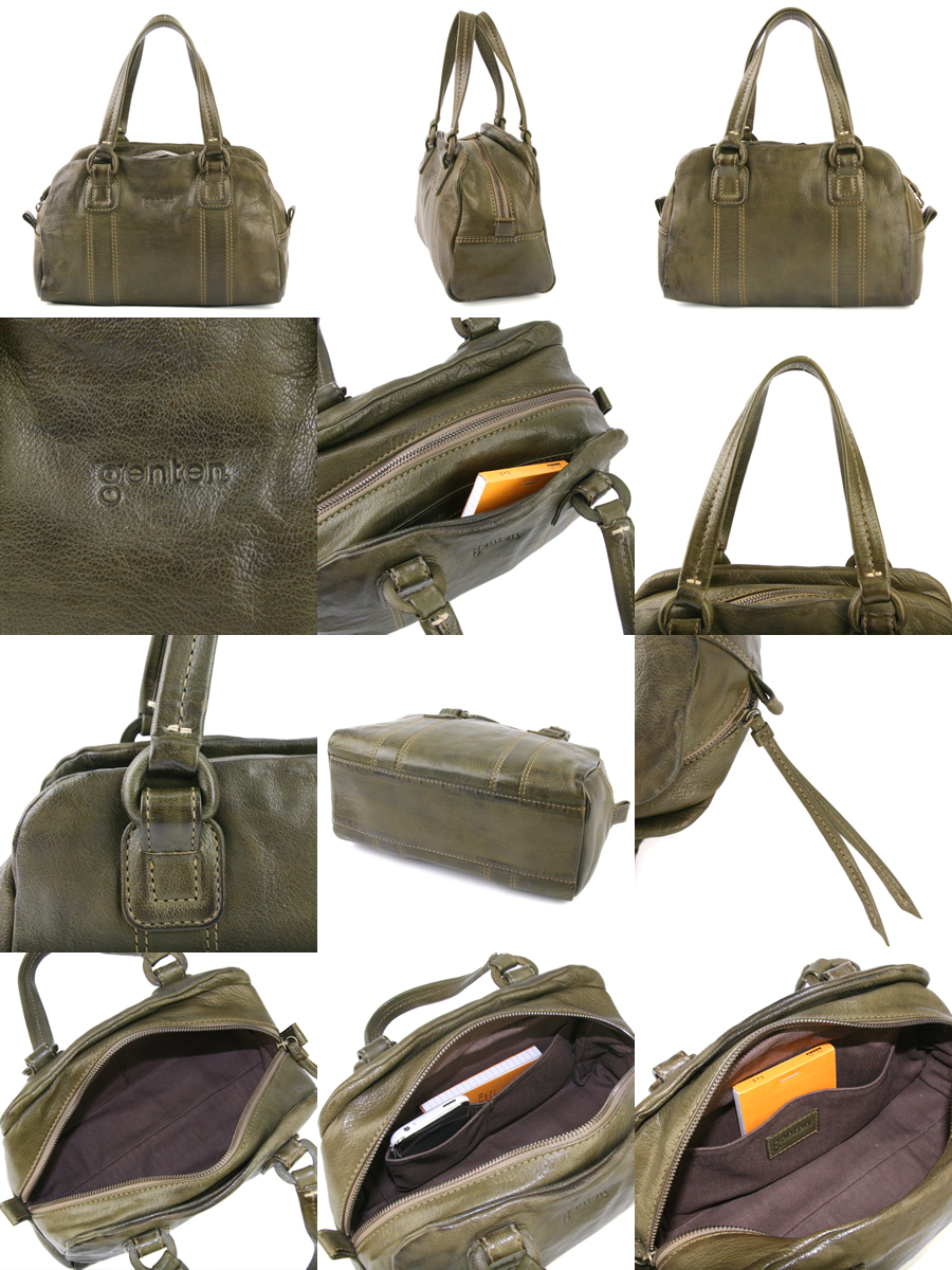genten genten GOAT NUME ( gortonume ) mini Boston bag 40403 ( 34530 ) ladies bag mini Boston bag points 10 times