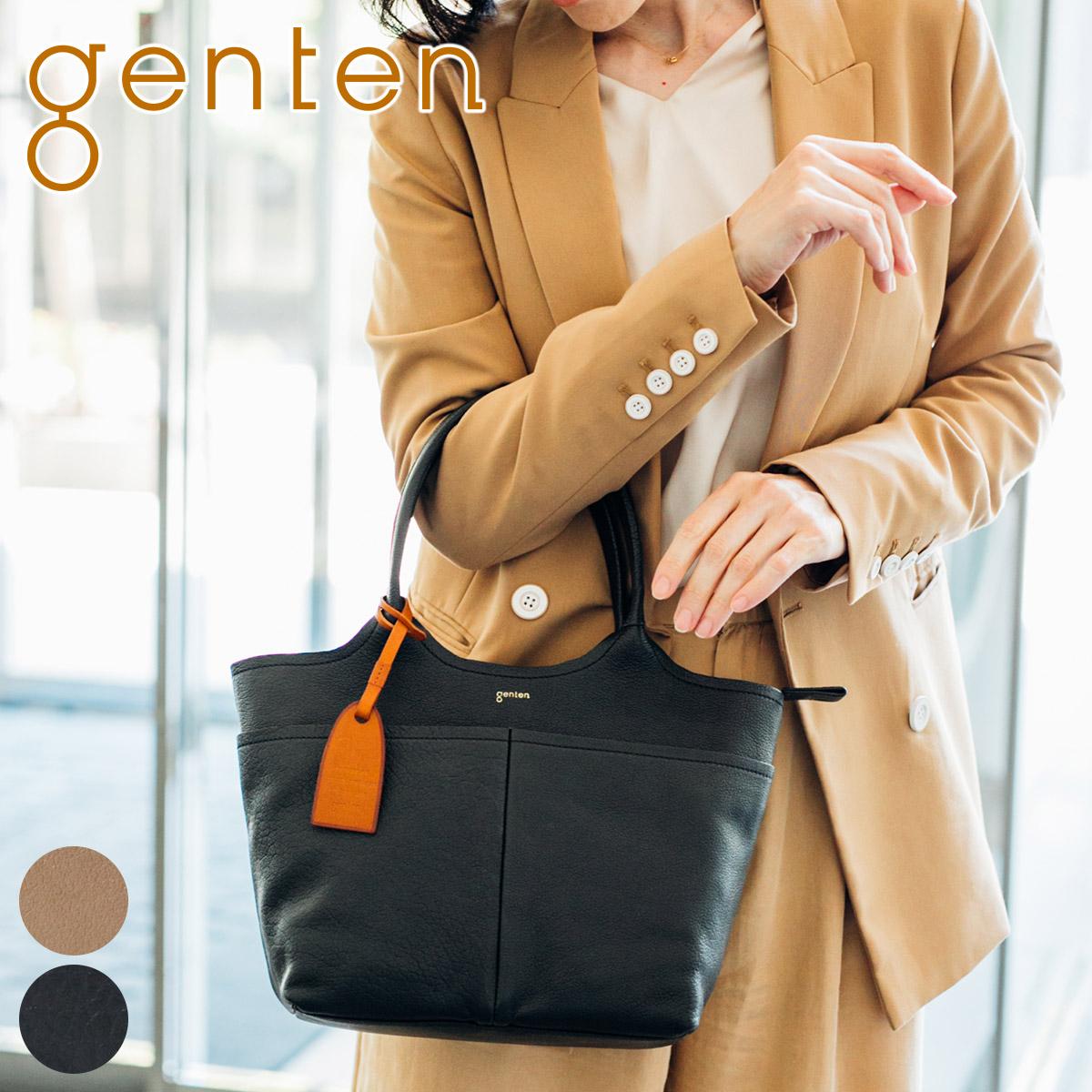 【かわいいWプレゼント付】 [ 新作 ] genten ゲンテン バッグタスカ 手さげバッグ 42061レディース ハンドバッグ ギフト かわいい おしゃれ プレゼント