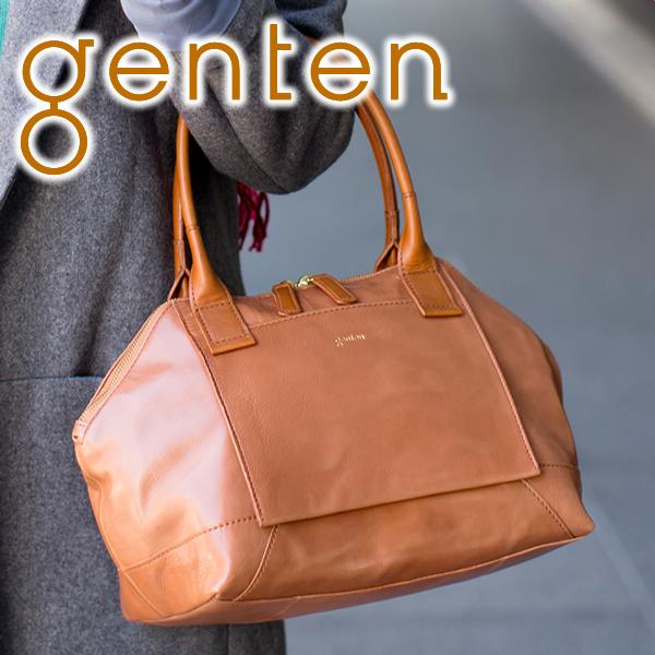 【かわいいWプレゼント付】 genten ゲンテン バッグRaffinato(ラフィナート) トートバッグ 40932レディース バッグ カジュアルトート ギフト かわいい おしゃれ プレゼント