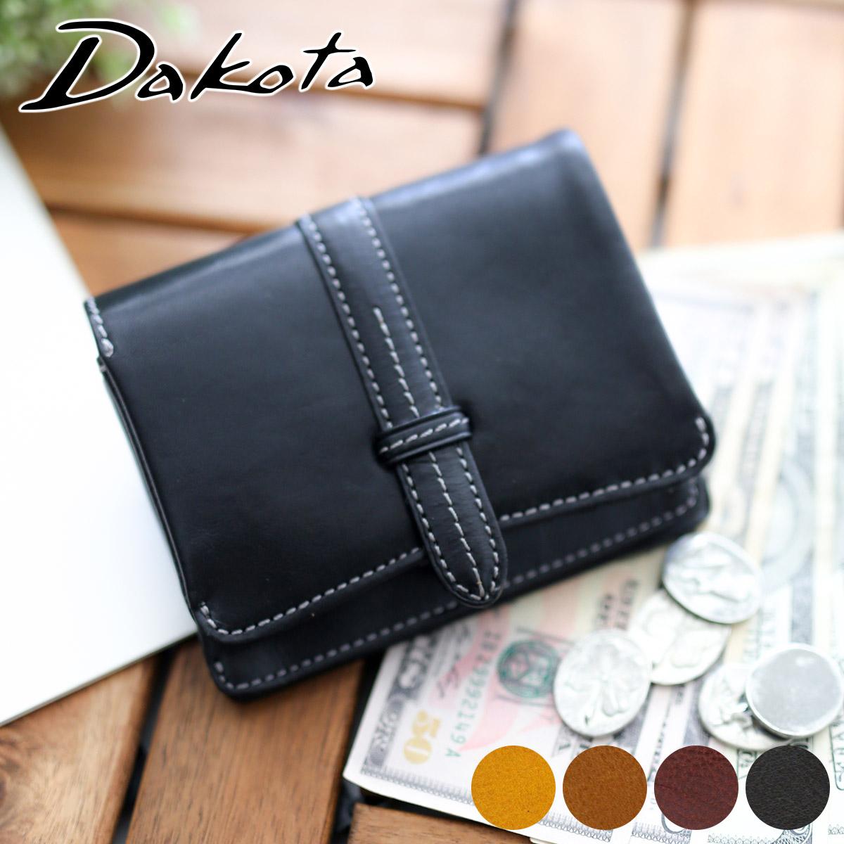 【かわいいWプレゼント付】 Dakota ダコタ 財布クラプトン 小銭入れ付き 二つ折り財布 0035113(0030113)レディース 31513 財布 ギフト かわいい おしゃれ プレゼント ブランド