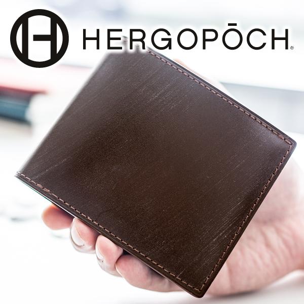 【実用的Wプレゼント付】 HERGOPOCH エルゴポック 財布Bridle Series ブライドルシリーズ ブライドルレザー小銭入れ付き 二つ折り財布 BLW-WT2メンズ 財布 二つ折り 日本製 ギフト プレゼント ブランド