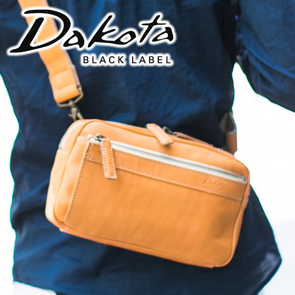 【4/16迄★ケアセット+Wプレゼント付】 Dakota BLACK LABEL ダコタ ブラックレーベル バッグイッシュ ショルダーバッグ 1620391メンズ ショルダーバッグ 斜めがけ 日本製 ギフト