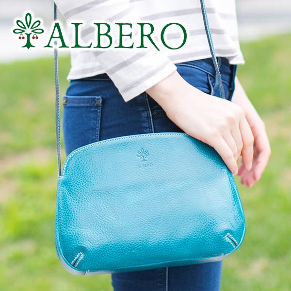 【選べるかわいいノベルティ付】 ALBERO アルベロ バッグIN Blu(イン ブル) ショルダーバッグ 9502レディース バッグ ミニ 斜めがけ 日本製 ギフト かわいい おしゃれ プレゼント