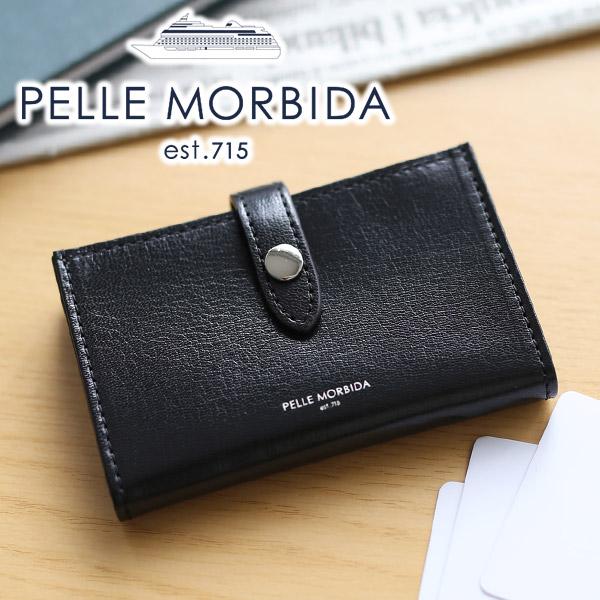 【選べる実用的ノベルティ付】 [ 新作 ] PELLE MORBIDA ペッレモルビダ カードケースBarca バルカ ゴートレザーカードケース PMO-BA420メンズ レディース 名刺入れ モルビダ ペレモルビダ 日本製