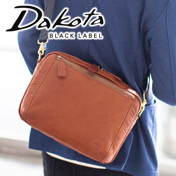 【実用的Wプレゼント付】 Dakota BLACK LABEL ダコタ ブラックレーベル バッグホースト 2WAY ショルダーバッグ 1620426メンズ コンパクトバッグ 斜めがけ 日本製 ギフト プレゼント ブランド