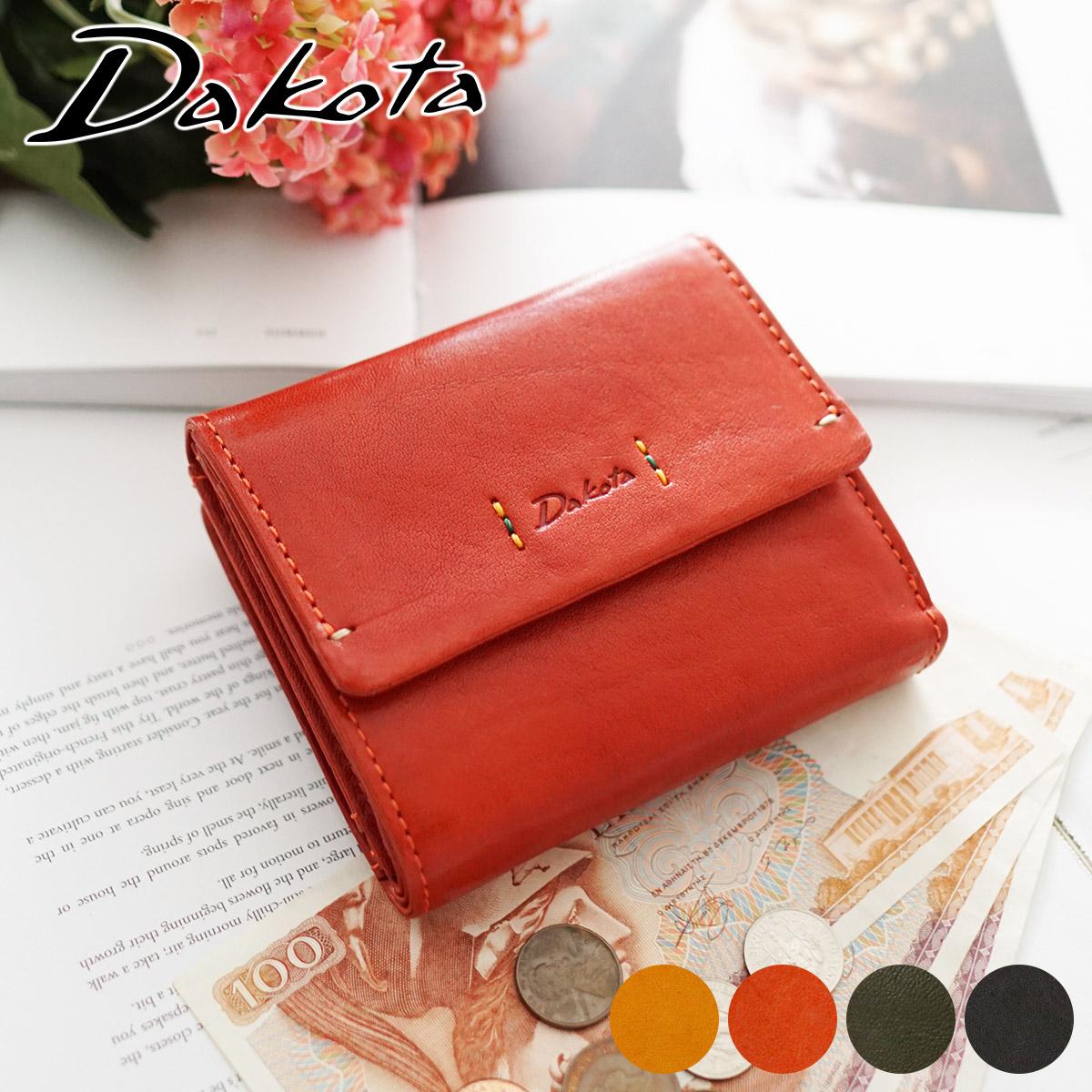 【かわいいWプレゼント付】 Dakota ダコタ 財布ピチカート 小銭入れ付き二つ折り財布 0036361レディース 二つ折り ギフト かわいい おしゃれ プレゼント ブランド