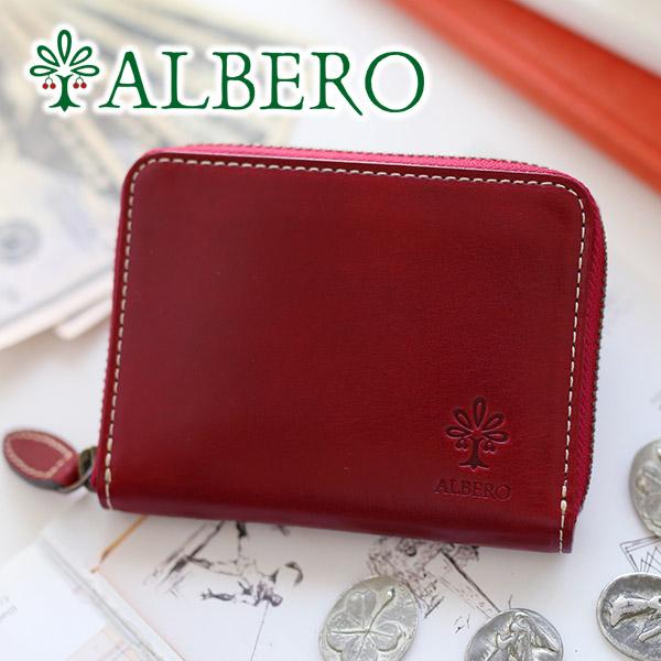 【かわいいWプレゼント付】 ALBERO アルベロ 財布OLD MADRAS(オールドマドラス) 小銭入れ付き二つ折り財布(ラウンドファスナー式) 6530レディース 二つ折り 財布 日本製 ギフト プレゼント ブランド