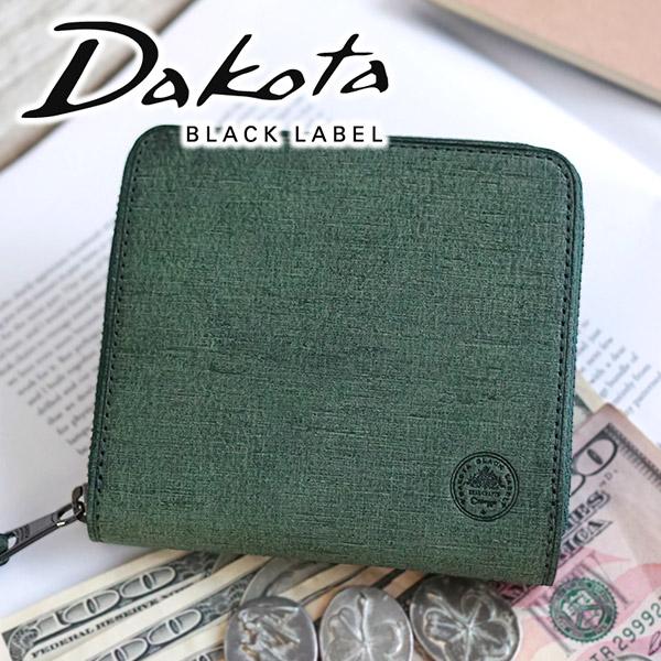 【実用的Wプレゼント付】 [ 2020年 春夏新作 ] Dakota BLACK LABEL ダコタ ブラックレーベル 財布バレック 小銭入れ付き二つ折り財布(ラウンドファスナー式) 0627901メンズ 二つ折り ラウンドファスナー ギフト プレゼント ブランド