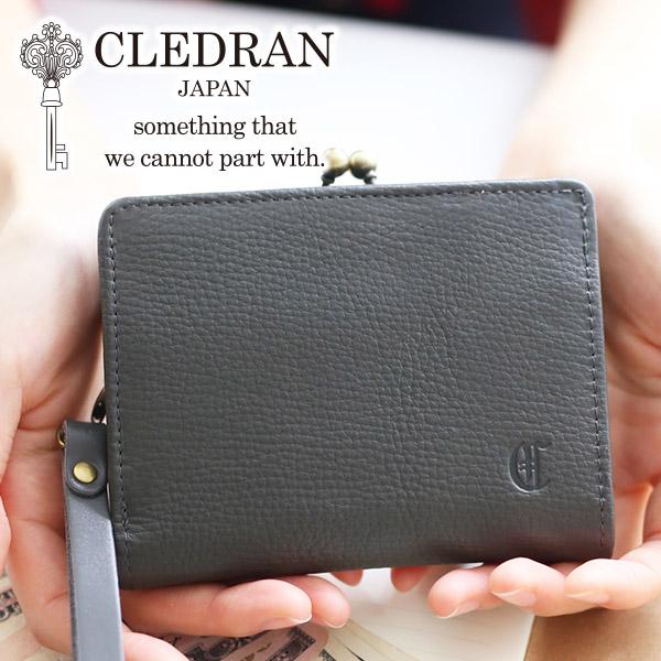 【選べるかわいいノベルティ付】 [ 2020年 春夏新作 ] CLEDRAN クレドラン 財布ANNE(アネ) 小銭入れ付き二つ折り財布 CR-CL3143レディース 二つ折り 日本製 ギフト かわいい おしゃれ プレゼント ブランド