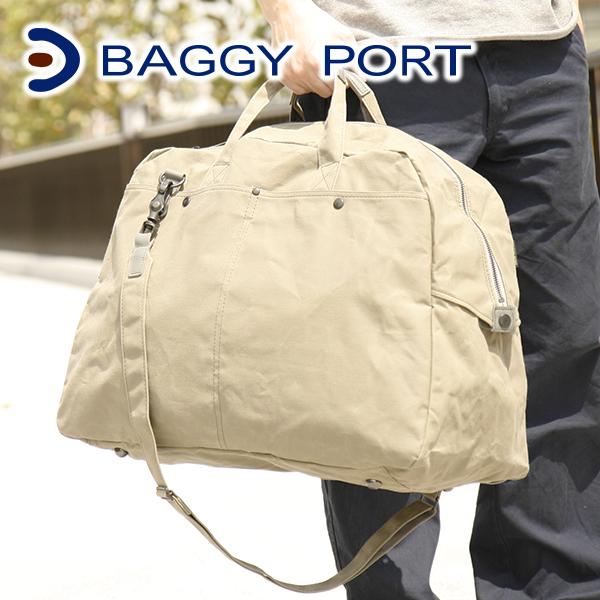 【実用的Wプレゼント付】 BAGGY PORT バギーポート ロウ引きパラフィン ボストンバッグ(大) ゴルフバッグ ACR-440GOLF メンズ バッグ ボストンバッグ 日本製 ギフト プレゼント