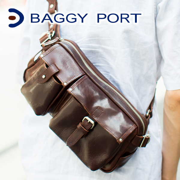 【選べる実用的ノベルティ付】 BAGGY PORT バギーポート ショルダーバッグ オイルバケッタ JOB-932メンズ バッグ ショルダーバッグ 日本製 ギフト プレゼント