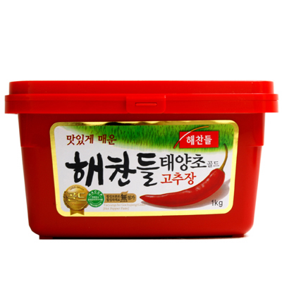 [hechandoru]kochujan 1kg(韩国食品,调料,辣味大酱)