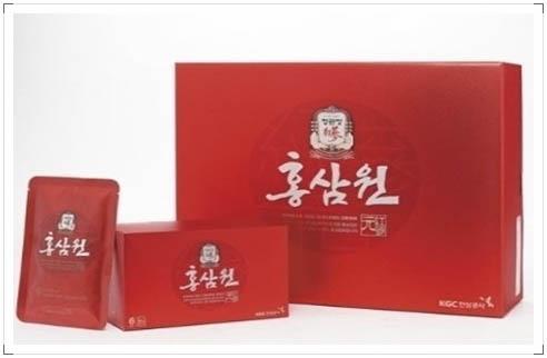 正官庄 紅蔘抽出液 ホンサムウォン 紅参元 (50ml×60包)