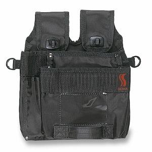 デポー オススメ人気商品《スーパーポシェット》多機能バッグ スーパーポシェット 防水タイプ 黒 機能性抜群 《セイワ正規代理店》 事業者限定 使い勝手の良い