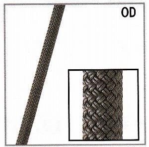 スタティックロープKM3【12.5mm】ODグリーン【入数:550m】(引張強度45kN)NFPA基準認定品