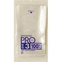 スーパーセール期間限定 規格ポリ袋透明LLDPE0.03mm 3箱から送料無料 事業者限定 規格ポリ袋 3号透明 80×150×0.030mm 宛先が個人名の場合はお取り扱いできません 100枚入 日本サニパック正規代理店 20冊×6箱 最安値に挑戦 注 同一メーカー3ケース以上送料無料