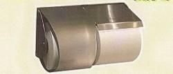 [送料無料][事業者限定] [丸富製紙オリジナル] 2連式トイレットホルダー(鍵付き)[右タイプ・左タイプ有り]《丸富製紙正規代理店》