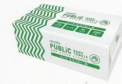[送料無料][事業者限定] パブリックハンドタオル[ハードエコノミーM200枚](200枚入×25パック×10箱)《王子ネピア正規代理店》》