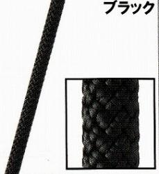 スタティックロープKM3【12.5mm】ブラック【入数:200m】(引張強度45kN)NFPA基準認定品
