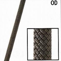 スタティックロープKM3【11mm】ODグリーン【入数:200m】(引張強度36kN)NFPA基準認定品