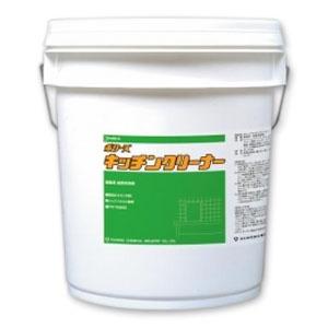 【送料無料】 ポリーズ キッチンクリーナー 【18kg】【レンジまわり床壁面の洗浄】《ユシロ化学工業正規代理店》