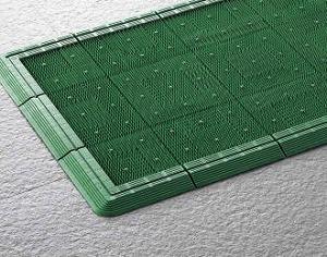 エバックス ターマット(F-9-OR-FS)【1500mm×3m・細幅縁付】《山崎産業正規代理店》受注生産