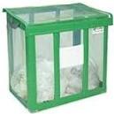 [事業者限定] 自立ゴミ枠 折りたたみ式 緑[容量:430L][規格色:緑][W900×D600×H800mm]《テラモト正規代理店》