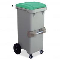 リサイクルカート#110●反転型・グリーン《テラモト正規代理店》※完成品でお届けします。